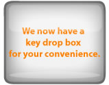 We now have a drop box for your convenience!